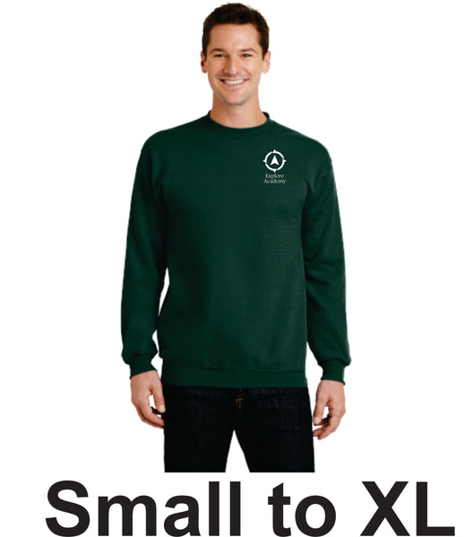 Explore Academy Adult Crewneck Sweatshirt Small to XL