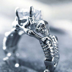 MyFancySauce:Limited Edition Skeleton Ring,10