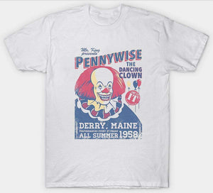 MyFancySauce:Pennywise The Dancing Clown T-Shirt,S