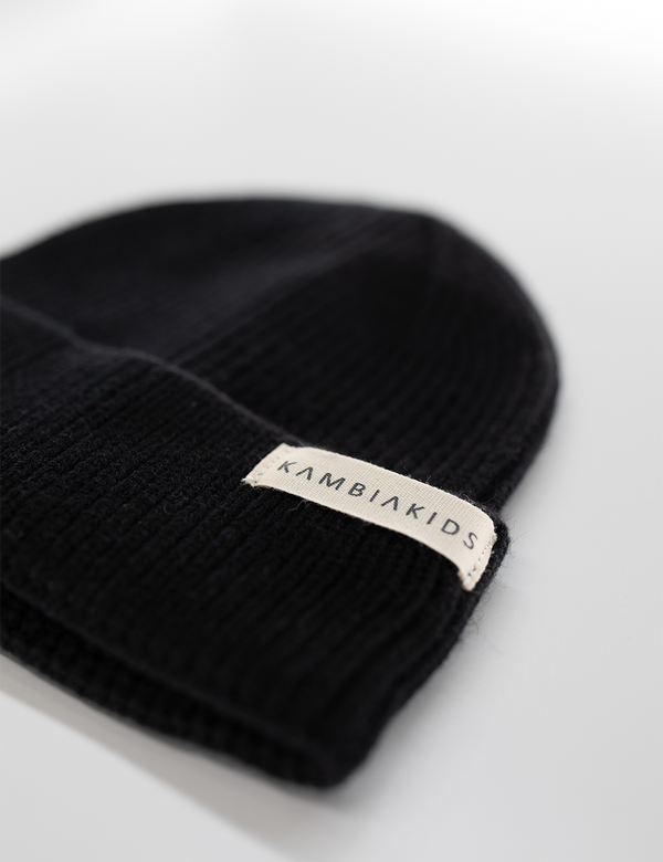 Black | Toddler Beanie