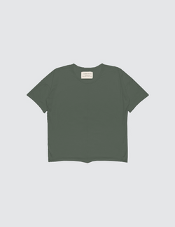 Army Green | Short Sleeve Top