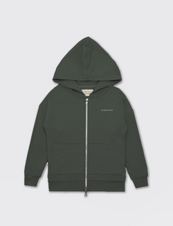 Army Green | Zip Up Warmie