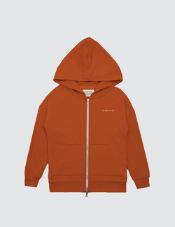 Burnt Orange | Zip Up Warmie