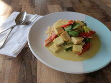 Vegan Green Curry with Tofu