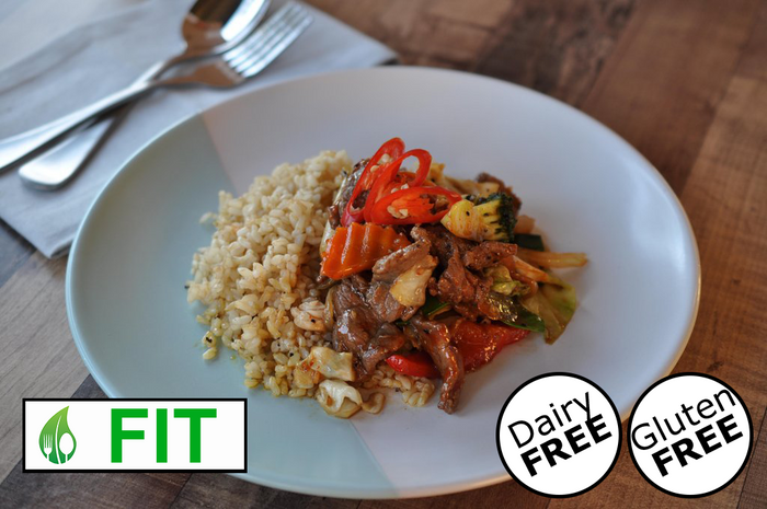 Stir Fried Beef with Chilli & Garlic (Fitness)