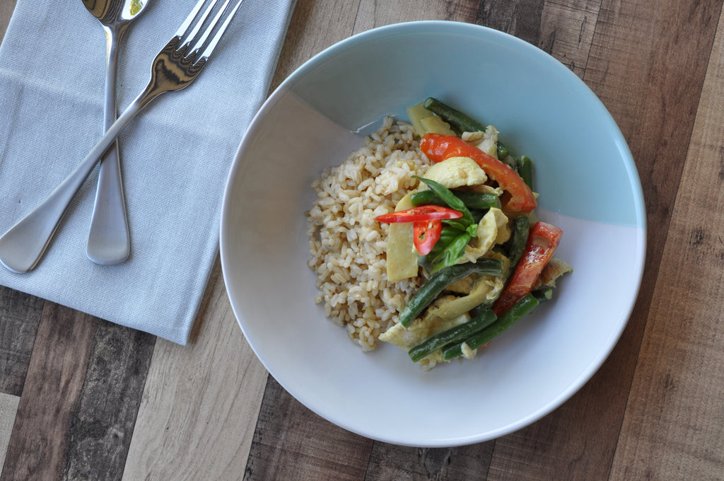 Green Curry with Chicken (Fitness)