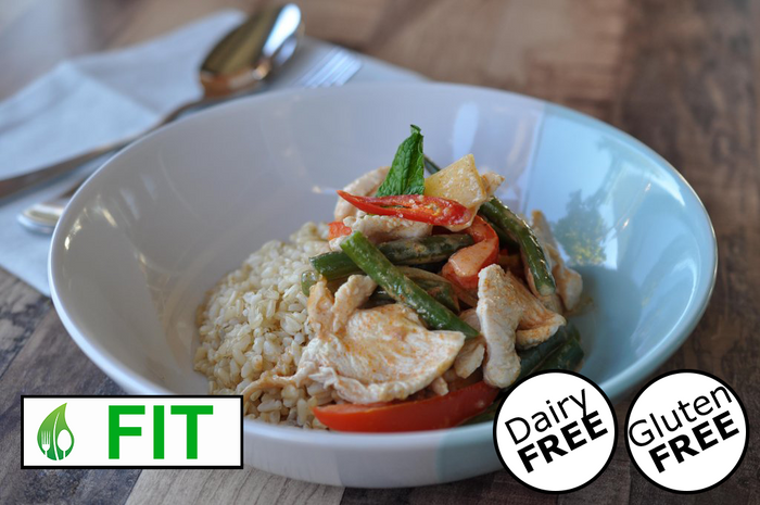 Red Curry with Chicken (Fitness)