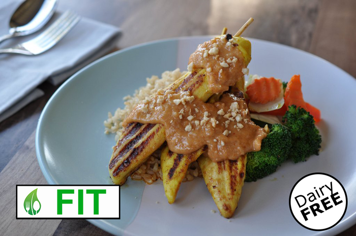 Satay Chicken (Fitness)