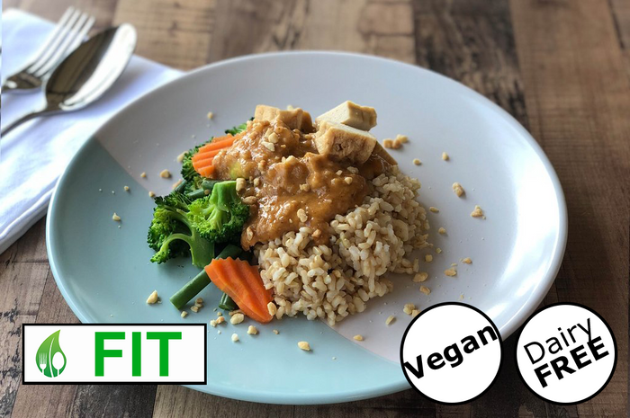 Vegan Satay with Tofu