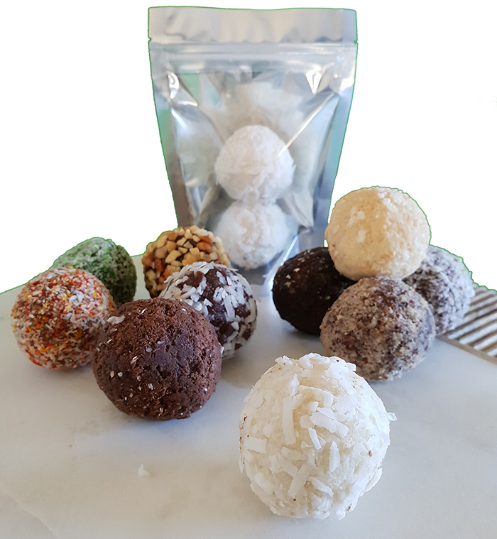 Protein Balls: 2 Pack - White Chocolate Almond