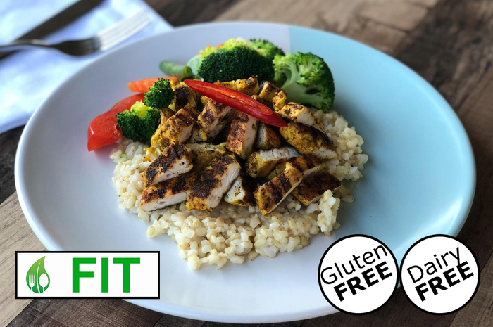 Cajun Chicken (GF) (Fitness)