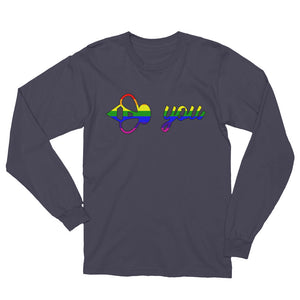 Bee You Pride Unisex Long Sleeve T-Shirt-Bee You Clothing