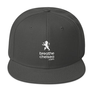 breathechelsea.com (All White Text)- Snapback Hat