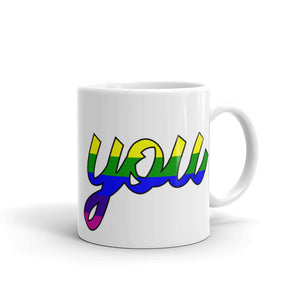 Bee You Pride Mug-Bee You Clothing