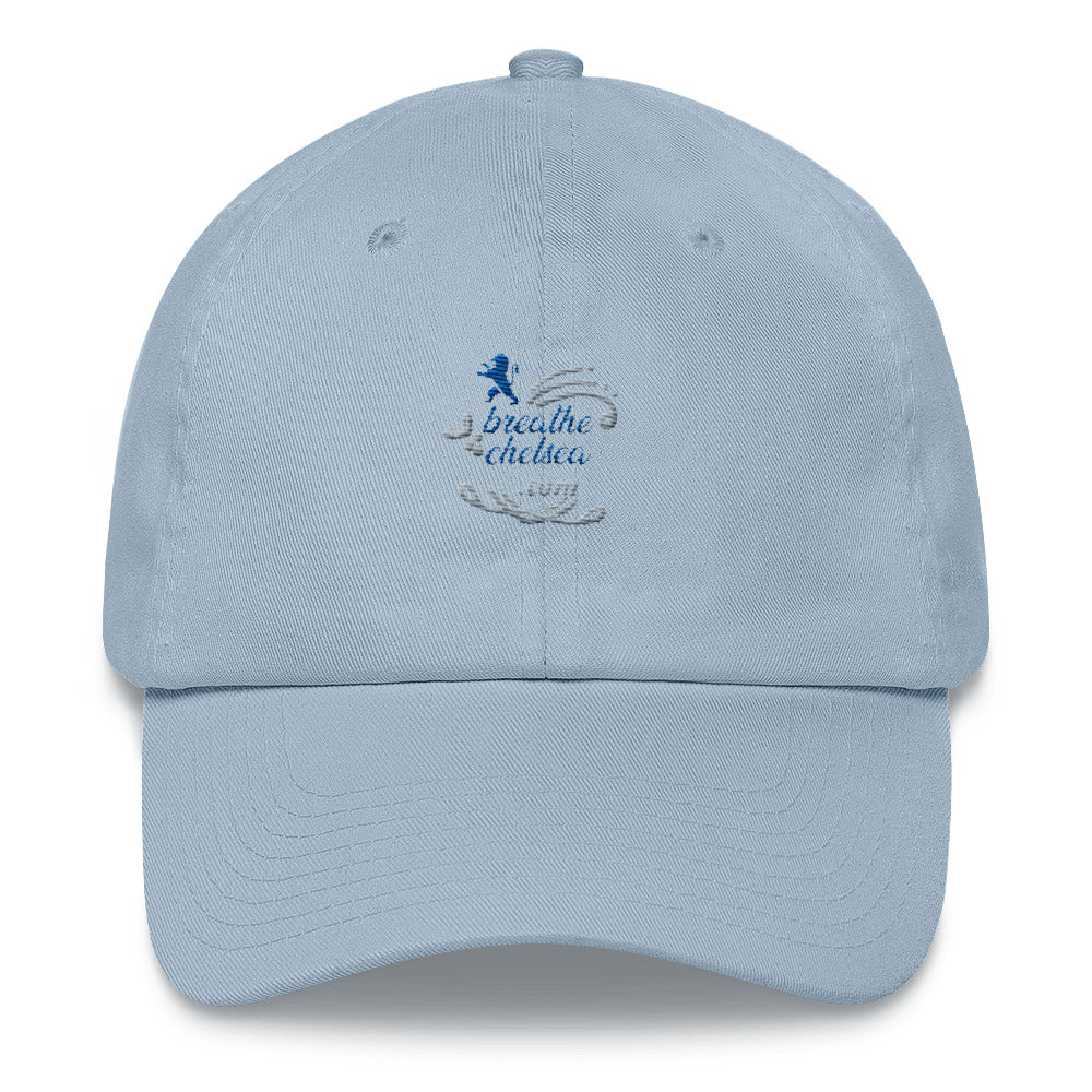 breathechelsea.com 2 (Blue and Grey)- Dad hat
