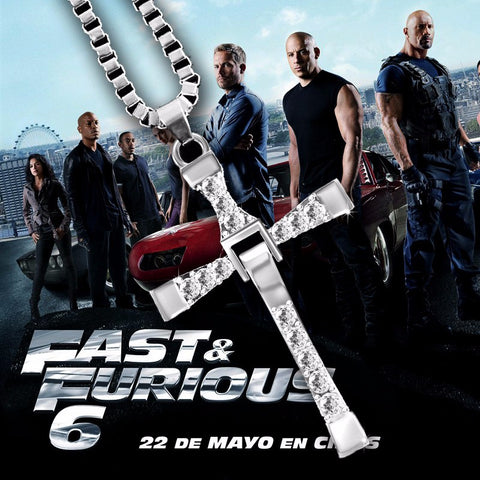 Fast and Furious Dominic Toretto's Cross Pendant Necklace