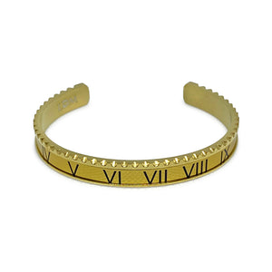 Roman V2 Stainless Steel Bracelet Adjustable - Gold
