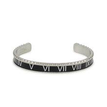 Roman V2 Stainless Steel Bracelet Adjustable - Black Silver