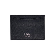 LDM Black and Silver Logo Card Holder