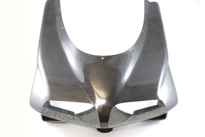 Carbon kevlar front nose fairing with large air intakes for Ducati 748, 916, 996, 998