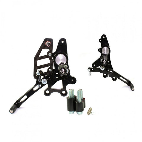 Ducabike Rear Sets with folding peg for 2007-2012 Ducati Hypermotard 796 | 1100