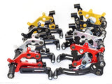 DUCABIKE TYPE 3 ADJUSTABLE SBK REARSETS for Ducati Panigale 899 | 1199 | 959 | 1299