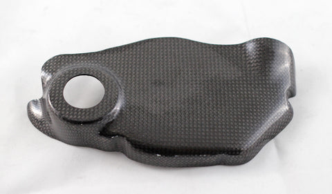 Carbon fiber clutch case protector for 1098, 1198, hypermotard 1100, Bimota DB10