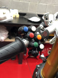 Panigale 7 button billet aluminum race switch.