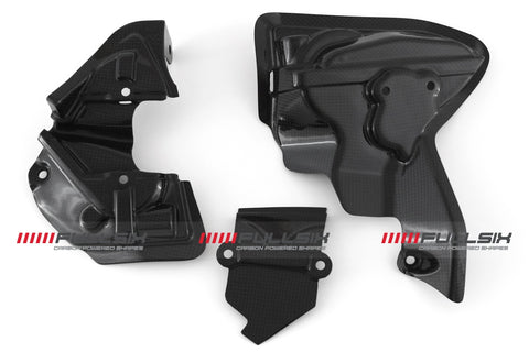 FullSix Bulk Head Engine Covers for all V2 Ducati Panigale models