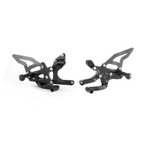 TWM BY SPIDER ADJUSTABLE REARSETS FOR PANIGALE V4 / V4S / SPECIALE