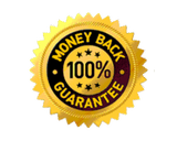 100% Money Back Guarantee.  Click for more information.