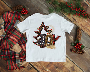 JOY Kids Christmas Shirt