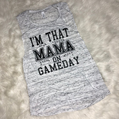 Gameday Mama Graphic Tank