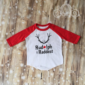 Rudolph is the Raddest Christmas Shirt