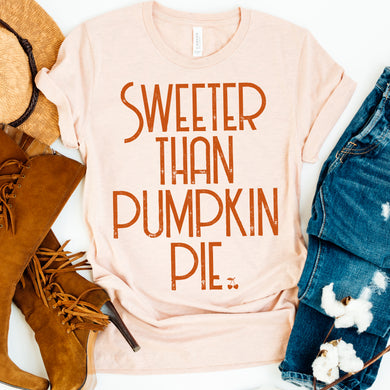 Kids Sweeter Than Pie Graphic Tee