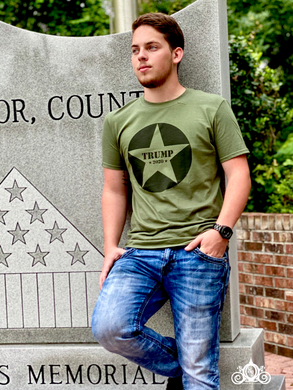Trump Star Graphic Tee