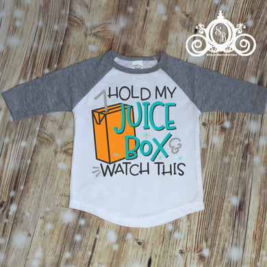 Hold My Juicebox Raglan Shirt