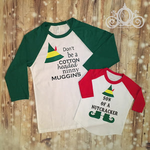 Cotton Headed Ninny Muggins Christmas Shirt