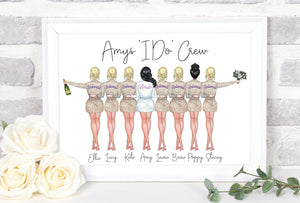 Customizable Bridal Wedding Print