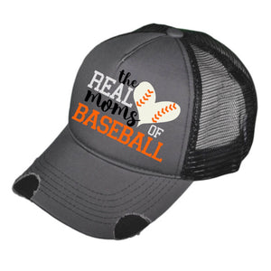 REAL MOMS OF BASEBALL TRUCKER HAT