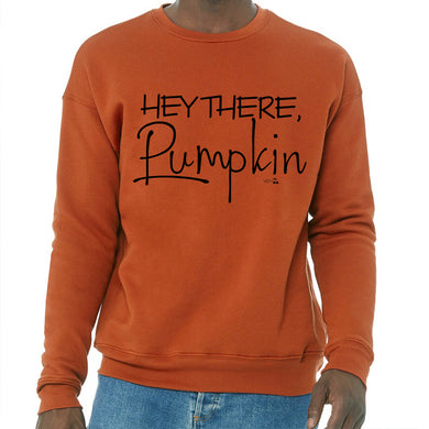 Hey There Pumpkin Graphic Sweatshirt