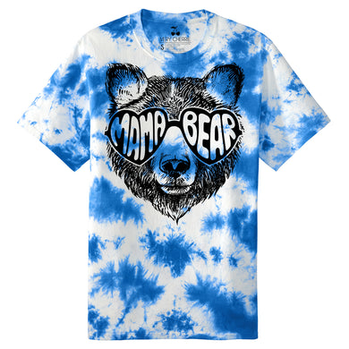 Mama Bear Tie Dye Graphic Tee