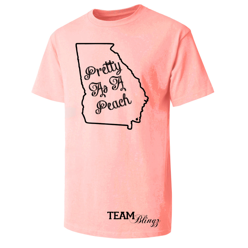 Pretty As A Peach Graphic Tee
