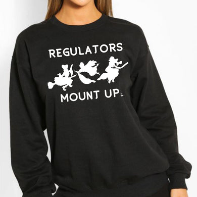 Regulators Halloween Graphic Sweatshirt