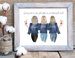 Customizable Sister Friend Print