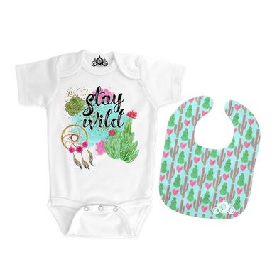 Stay Wild Onesie Set