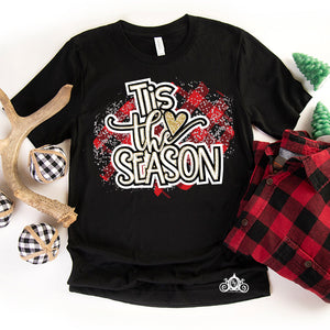 Tis the Season Plaid Graphic Tee