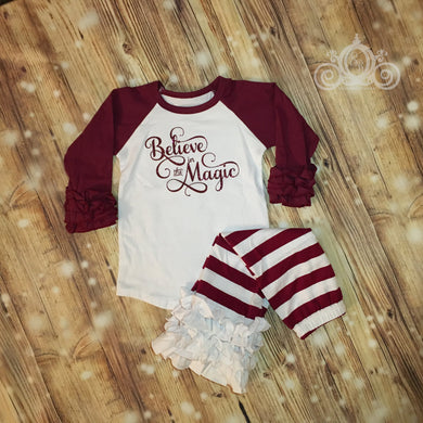 Believe in Magic Ruffle Set