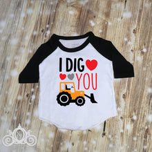 Boys I Dig You Valentine Shirt
