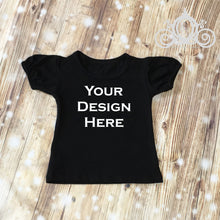 CUSTOMIZE ME! Black Royal Tee